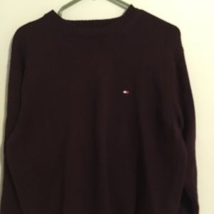 Burgundy Tommy Hilfiger sweater